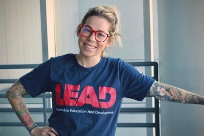 SAFER fund recipient Katherine McClain