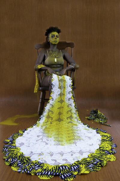 Yacine Tilala Fall, Self Portrait (Jigéen, Jabar, Yaye, Ndey)