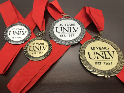 UNLV Faculty Length of Service Awards