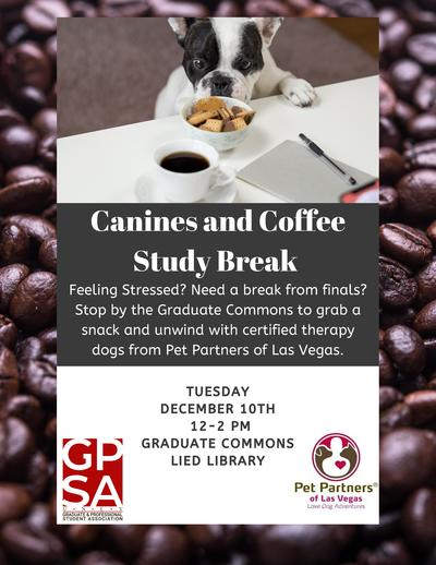 Canines and Coffee Study Break