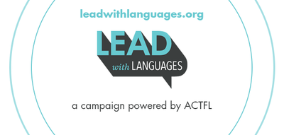 Lead with Languages Logo