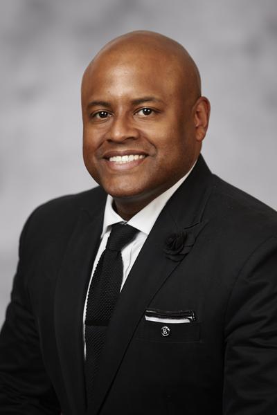 UNLV School of Nursing Assistant Professor Dr. Aaron Bellow Jr.