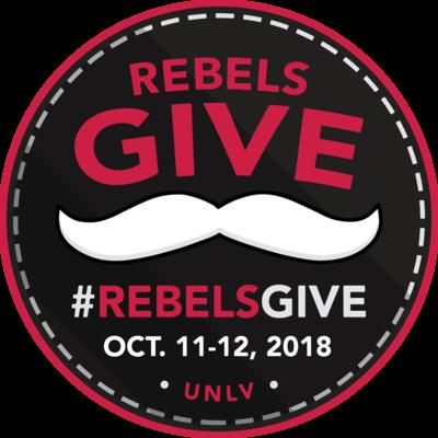 #RebelsGive Logo