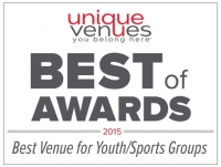 Unique Venues Best of Awards 2015 Best Venue for Youth/Sports Groups