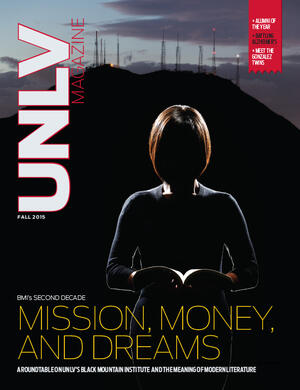 Magazine cover featuring Mission, Money, and Dreams story
