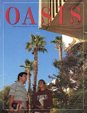 Oasis Magazine cover