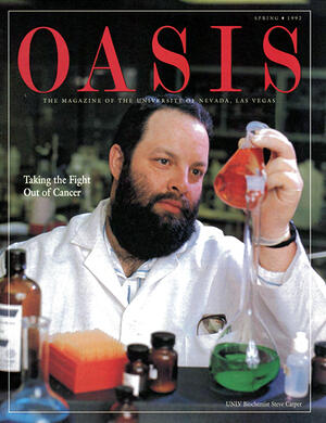 Oasis Magazine cover featuring Taking the Fight Out of Cancer story