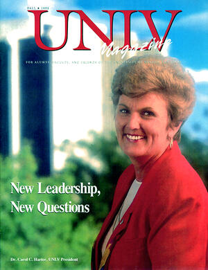 Magazine cover featuring New Leadership, New Questions story