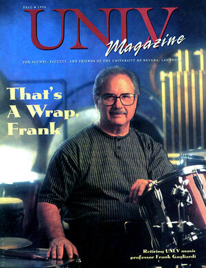 Magazine cover featuring That's a Wrap, Frank story