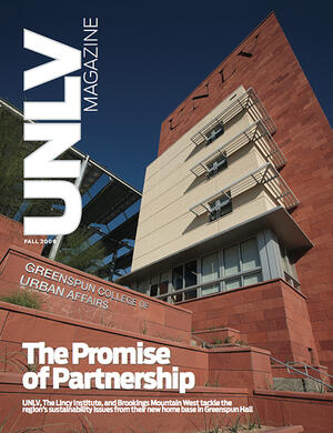 Magazine cover featuring The Promise of Partnership story