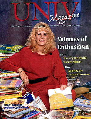 Magazine cover featuring Volumes of Enthusiasm story