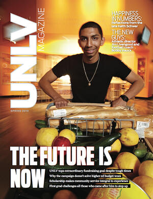 Magazine cover featuring The Future is Now story