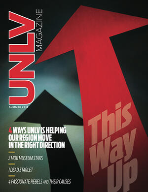 Magazine cover featuring This Way Up story