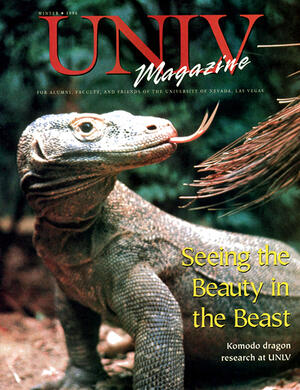 Magazine cover featuring Seeing the Beauty in the Beast story
