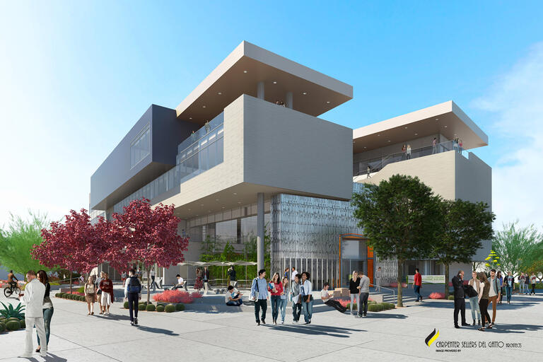 Rendering of Hospitality Hall
