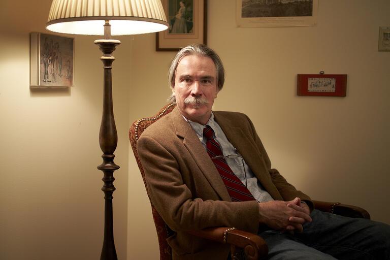 Portrait of Donald Revell