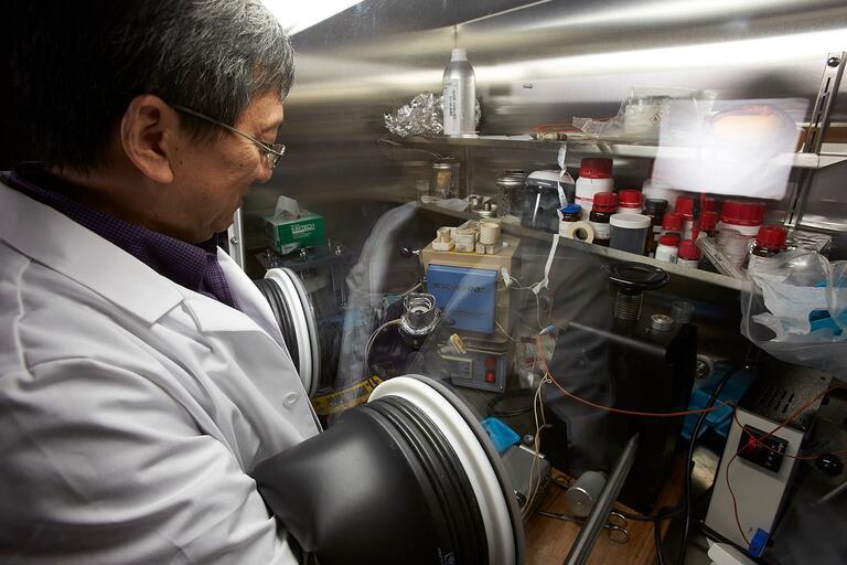 Physics Professor Yusheng Zhao