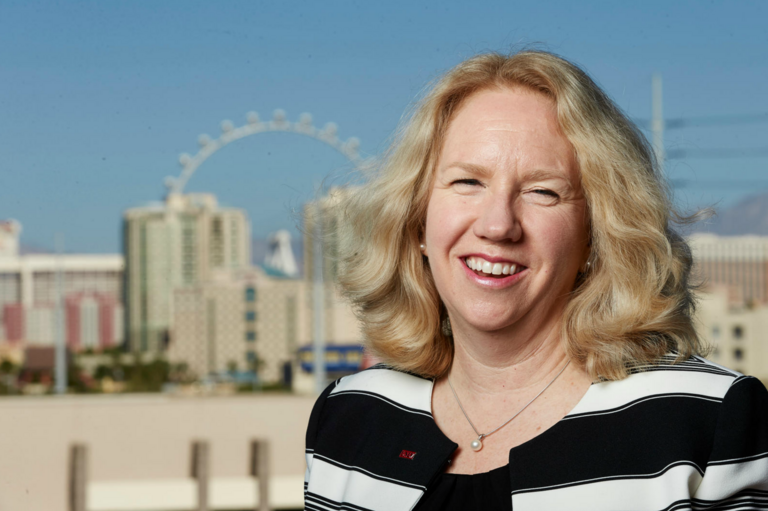 Mary Croughan, UNLV's vice president for research and economic development