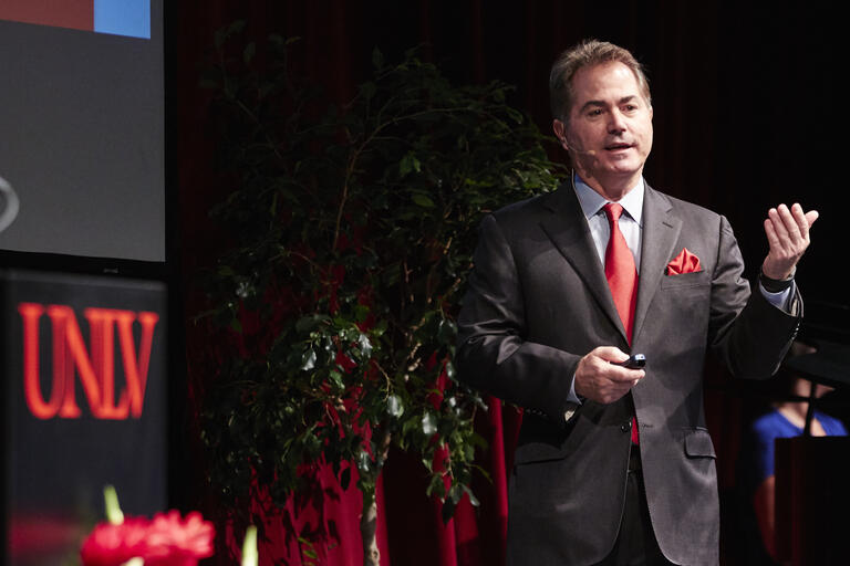 UNLV President Len Jessup Delivers State of the University Address