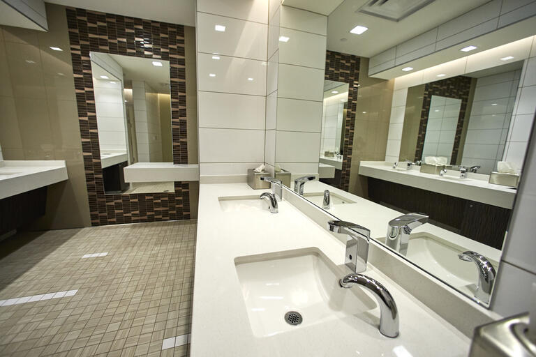 Hospitality Hall men's room