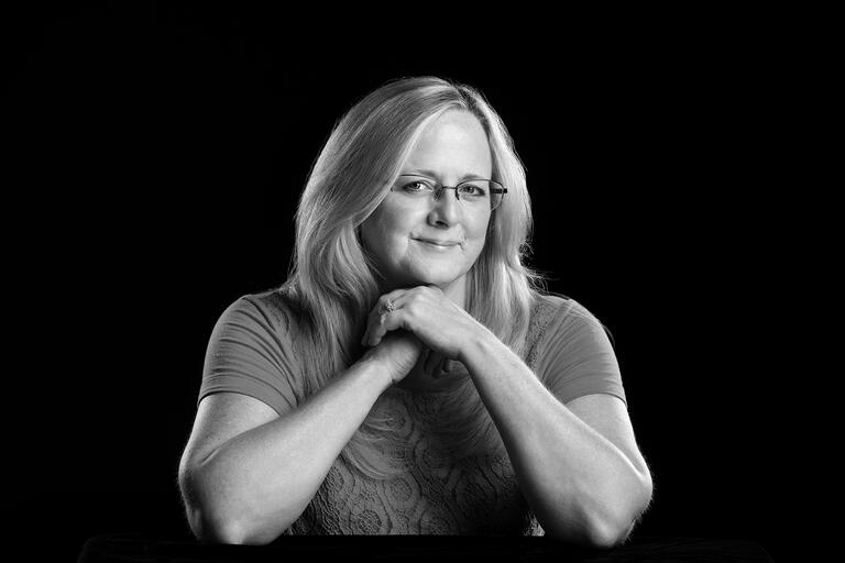 Portrait of Classified Rookie of the Year Susan Gearling