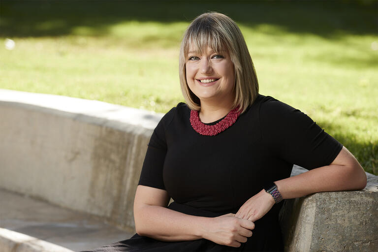 Portrait of Missy Arendash is the Administrative Faculty Member of the Year