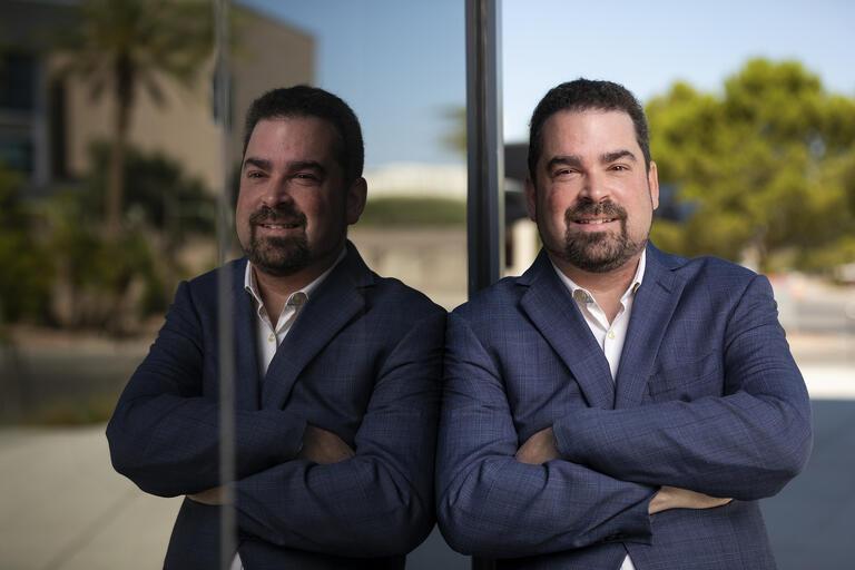 Portrait of Aaron Saiewitz, PhD, CPA