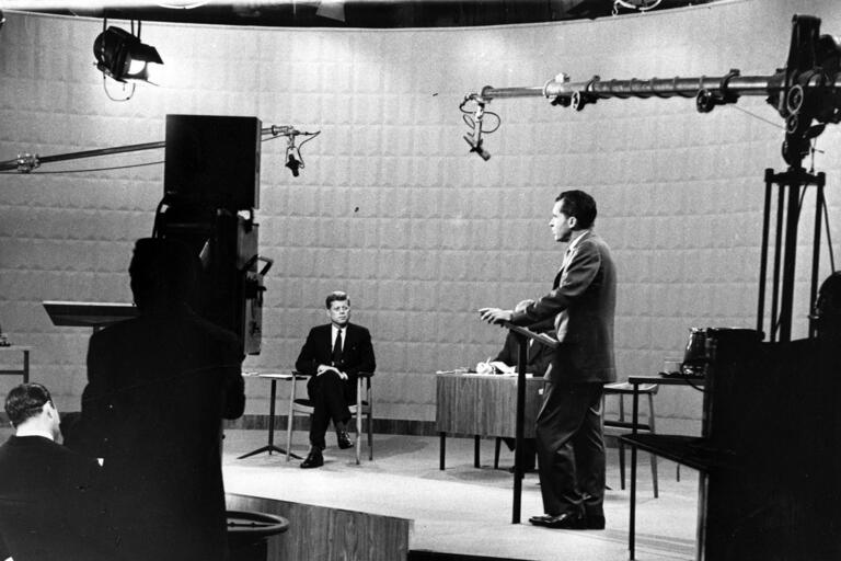 Kennedy and Nixon debate