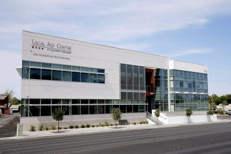 The Legal Aid Center of Southern Nevada building