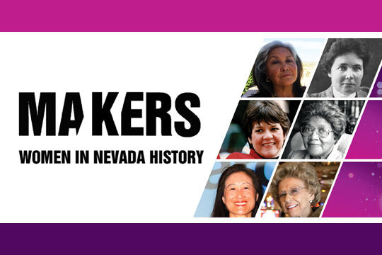 Poster for Makers: Women in Nevada History
