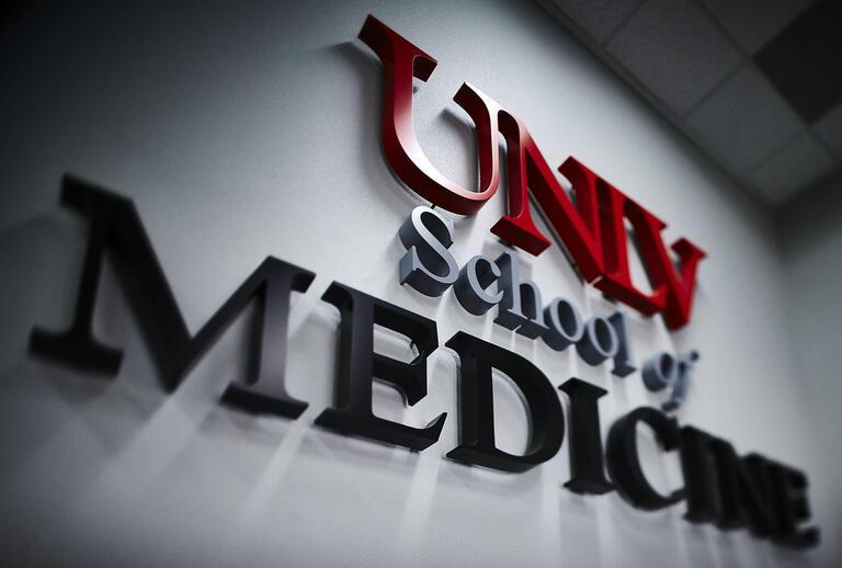medical school signage
