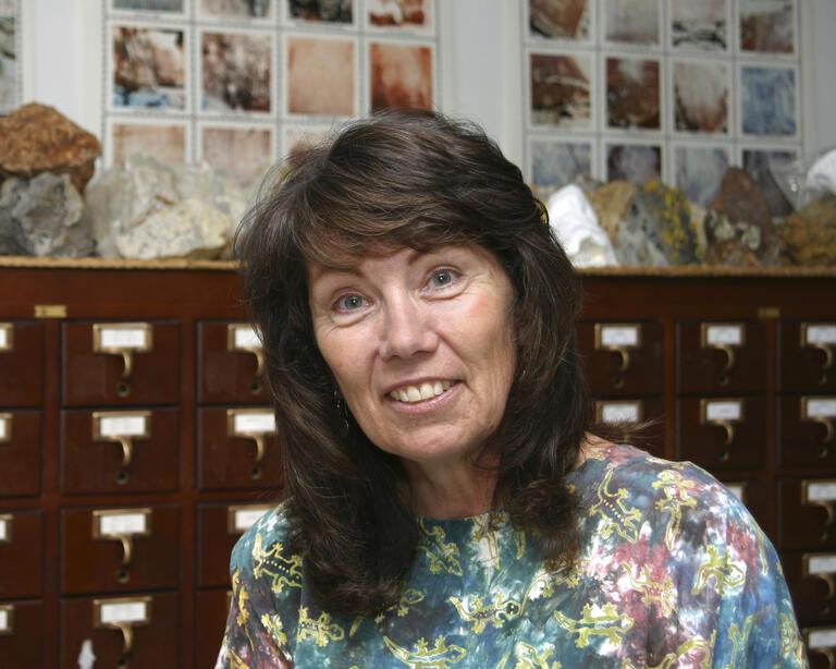 Portrait of Jean Cline