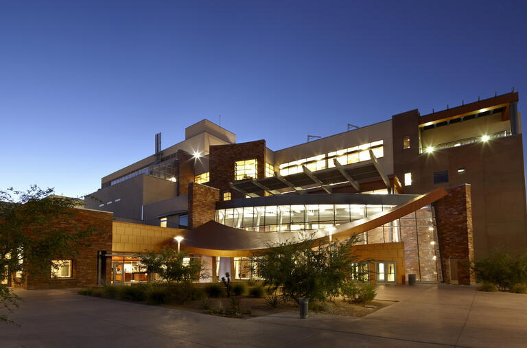 Picture of science and engineering building