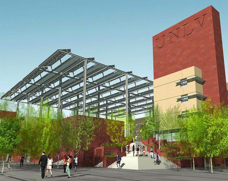 Greenspun College of Urban Affairs building