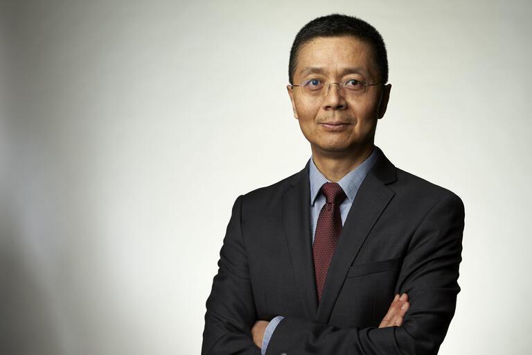 A portrait of Jay Shen