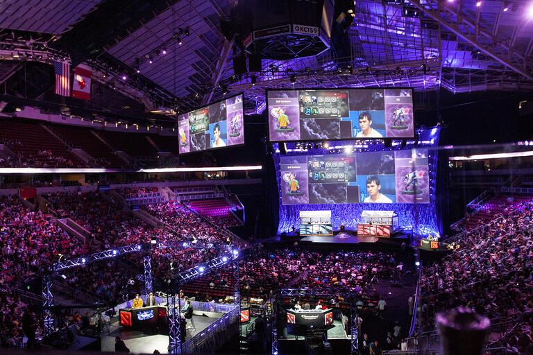 esports gaming arena