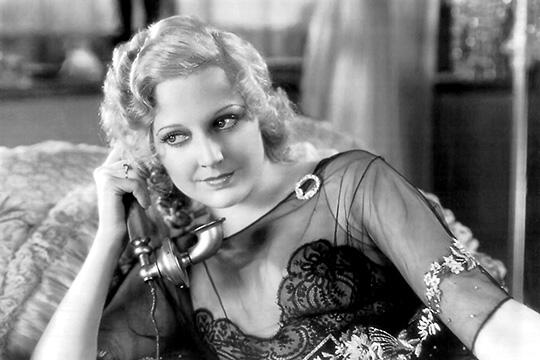 Thelma Todd in a still from 1931
