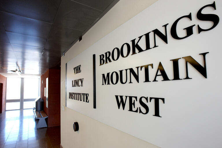 brookings mountain west sign