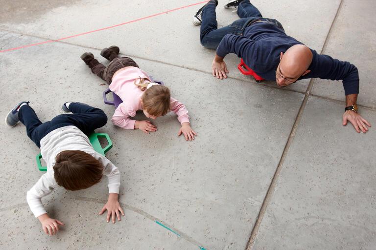 preschoolers excercise
