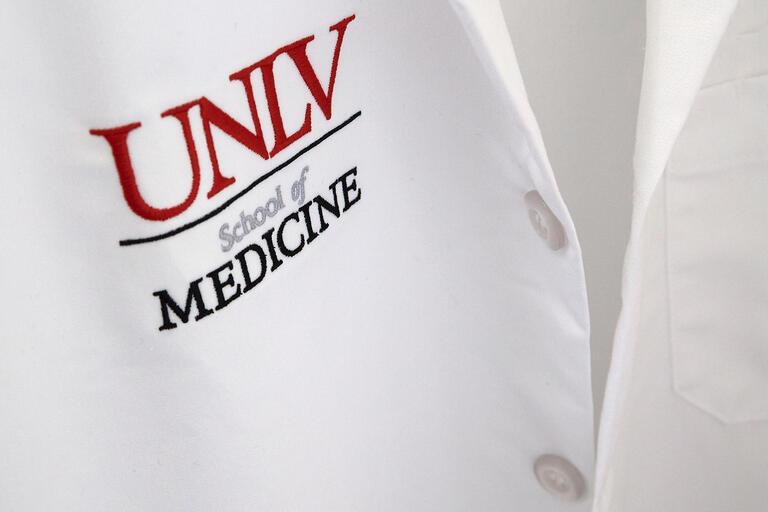 shirt with School of Medicine logo