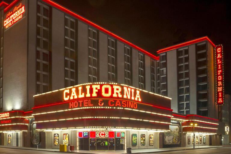 exterior of Las Vegas hotel