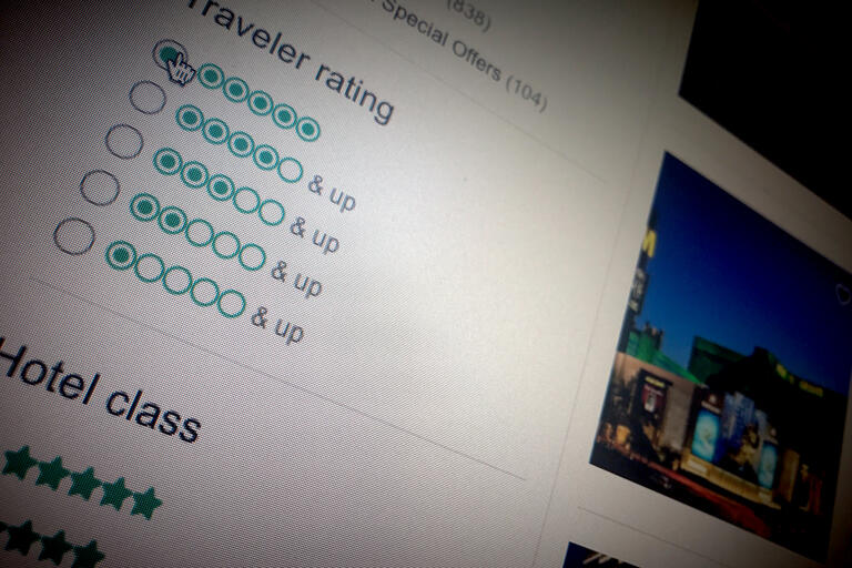 travel review website