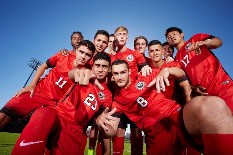 UNLV men's soccer team