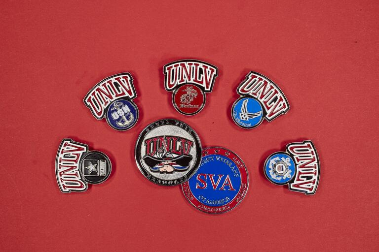 Veterans Services pins