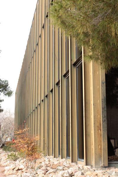 Artemus Hall Columns