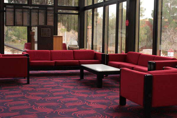 Artemus Hall lobby chairs