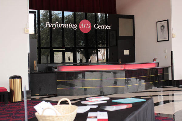 Performing Arts Center entrance