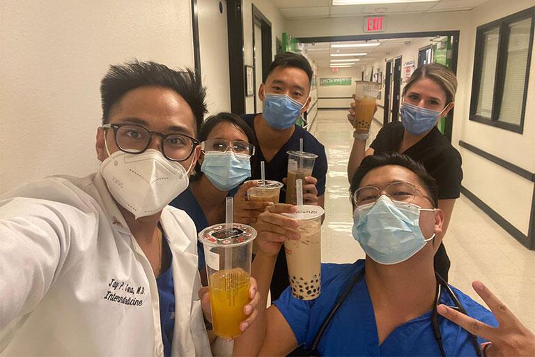 Selfie of Internal Medicine residents