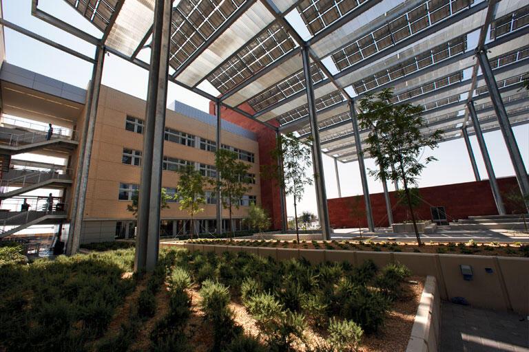 Greenspun Hall Courtyard