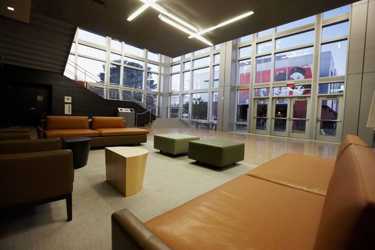 Greenspun Hall first floor reception area